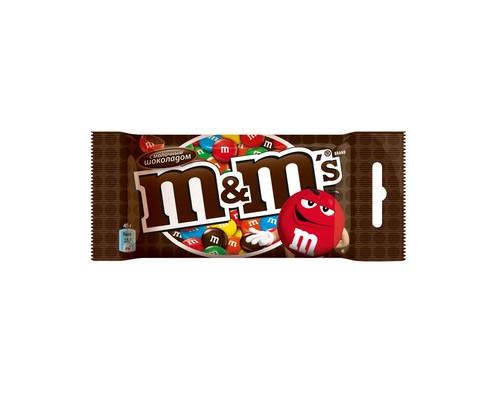 Драже Mars M&M's с шоколадом 45 г - (409453К)