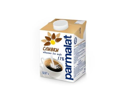 Сливки Parmalat стерилизованные 11% 0.5 л - (647526К)