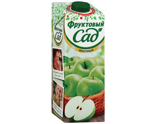 Нектар Фруктовый Сад яблоко 0.95 л - (133587К)