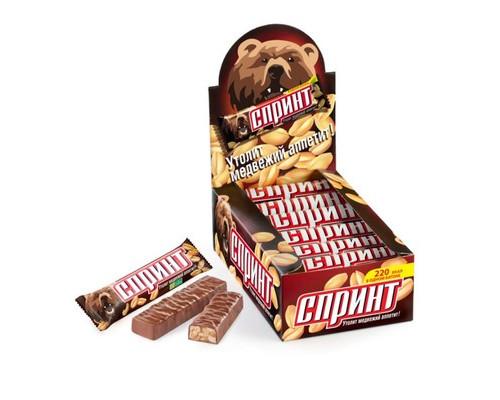 Шоколадный батончик Спринт 50 г - (450262К)