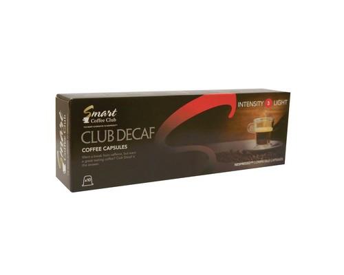 Капсулы для кофемашин Smart Coffee Club Decaf 10 штук в упаковке - (449899К)