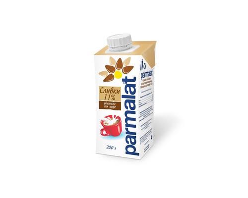 Сливки Parmalat ультрапастеризованные 11% 200 г - (432771К)