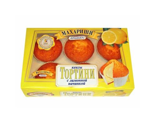 Кекс Махариши с лимонной начинкой 200г - (494730К)