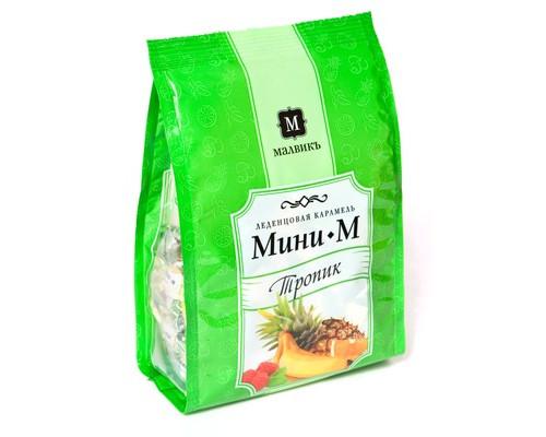 Карамель леденцовая Малвикъ Мини-М Тропик 150 г - (486790К)