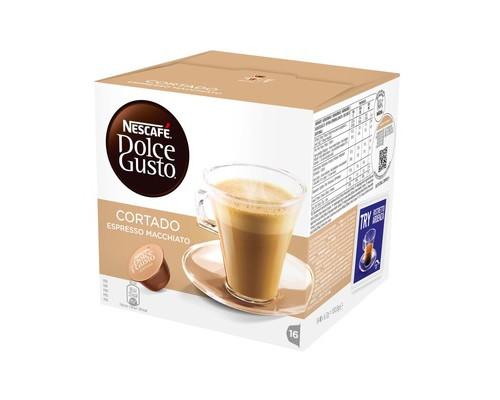 Капсулы для кофемашин Dolce Gusto Cortado 16 штук в упаковке - (383115К)