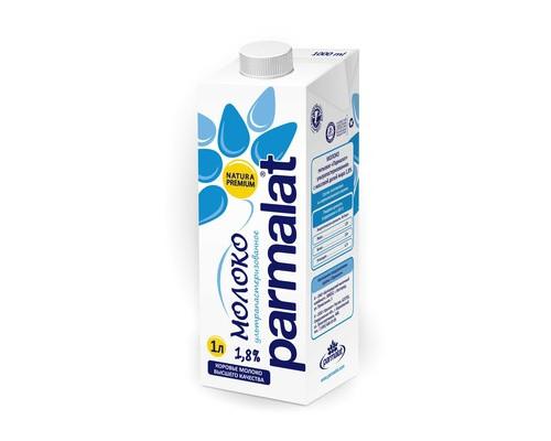 Молоко Parmalat ультрапастеризованное 1.8% 1 л - (268166К)