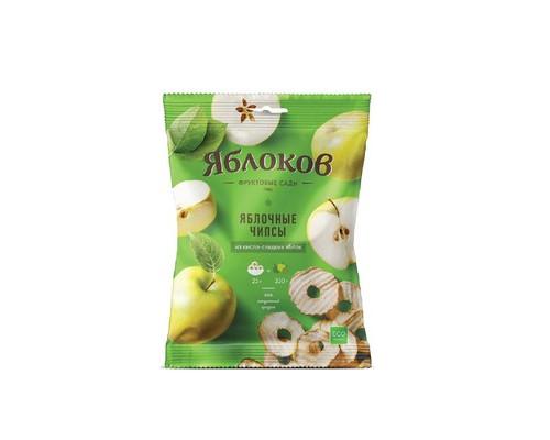 Чипсы Яблоков из кисло-сладких яблок 10 штук по 25 г - (637868К)