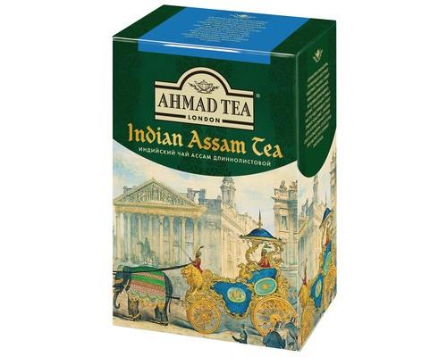 Чай Ahmad Tea Indian Assam tea черный 100 г - (521955К)