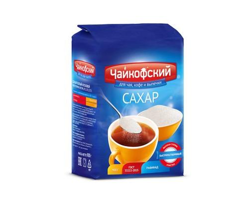 Сахарный песок Чайкофский 900 г - (440172К)