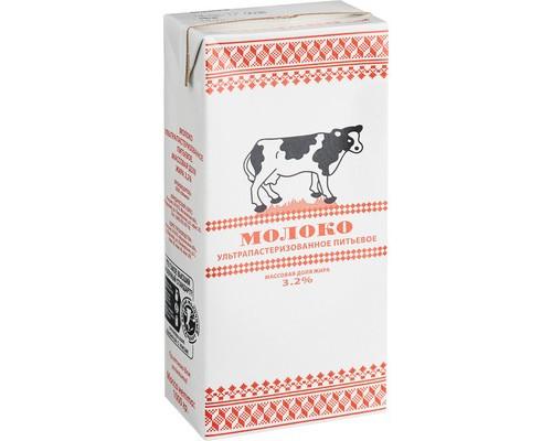 Молоко Экомол 3.2% ультрапастеризованное 973 мл - (612867К)