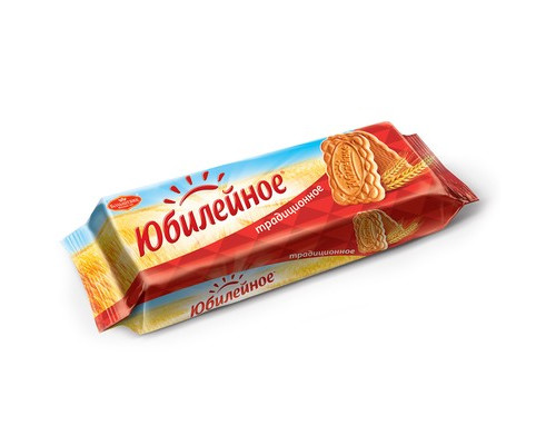 Печенье Юбилейное традиционное 112 г - (104536К)