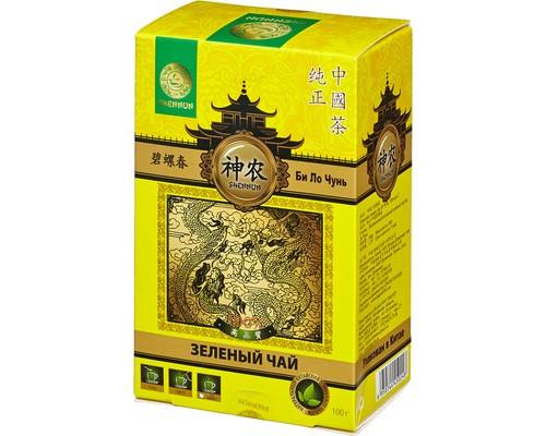 Чай Shennun Би Ло Чунь зеленый 100 г - (464236К)