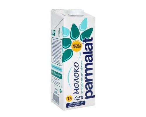 Молоко Parmalat ультрапастеризованное 0.5% 1 л - (486625К)