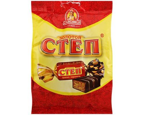 Конфеты шоколадные Славянка Золотой Степ 192 г - (640166К)