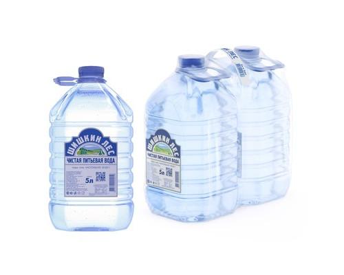 Вода питьевая Шишкин лес негазированная 5 литров 2 штуки в упаковке - (133581К)