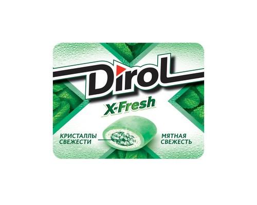 Жевательная резинка DIROL X-Fresh Мятная свежесть 16 г - (429620К)