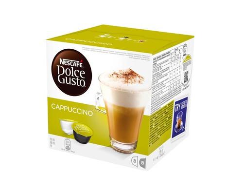 Капсулы для кофемашин Dolce Gusto Cappuccino 16 штук в упаковке - (185132К)