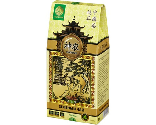 Чай Shennun Мо Ли Мао Фен зеленый с жасмином 100 г - (464237К)