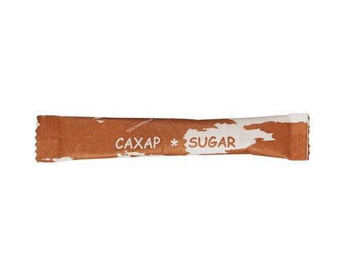 Сахар порционный Материк тростниковый в стиках по 5 г 200 штук в упаковке - (441601К)