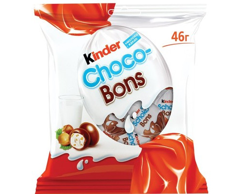 Конфеты шоколадные Kinder Choco-Bons 46 г - (685057К)