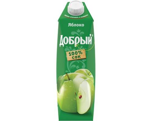 Сок Добрый яблоко 1 л - (443487К)