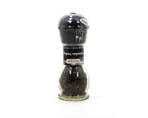 Перец черный горошком Kotanyi мельница 36 г - (420454К)