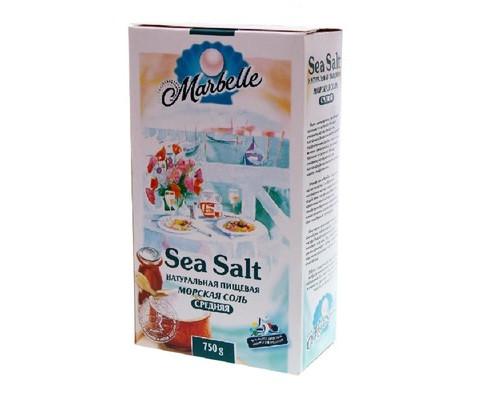 Соль морская Marbelle средняя 750 г - (659978К)