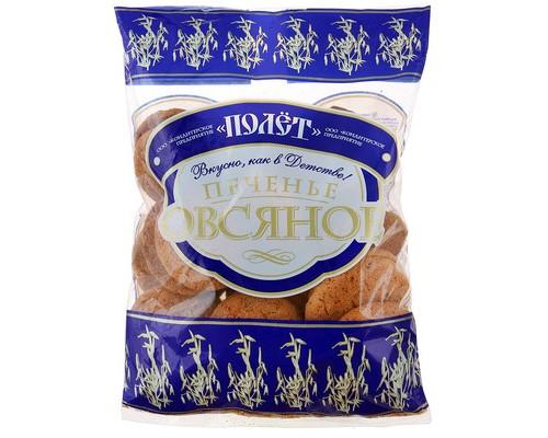 Печенье Полет овсяное 400 г - (494724К)