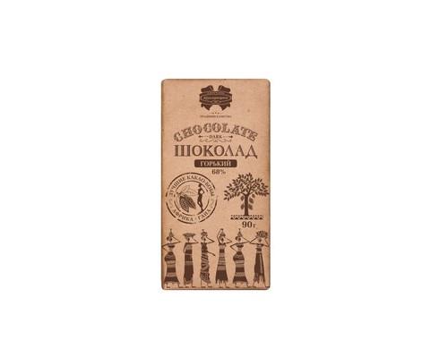 Шоколад Коммунарка горький 68% 90 г - (681517К)