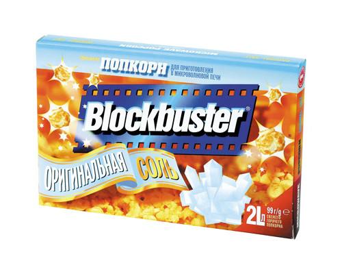 Попкорн Blockbuster с солью 99 г - (322915К)