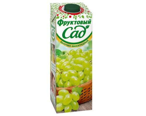 Нектар Фруктовый Сад яблоко/виноград 0.95 л - (440370К)