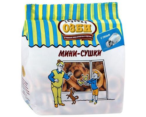 Мини-сушки Семейка Озби с солью 150 г - (464195К)