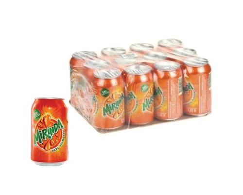 Напиток Mirinda Orange газированный 0.33 л 12 штук в упаковке - (515737К)
