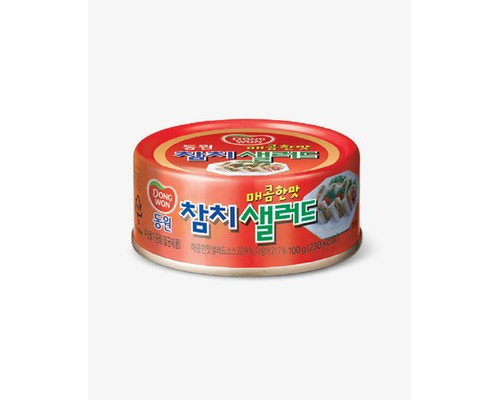 Паштет Dongwon из тунца пикантный консервированный 100 г - (640510К)