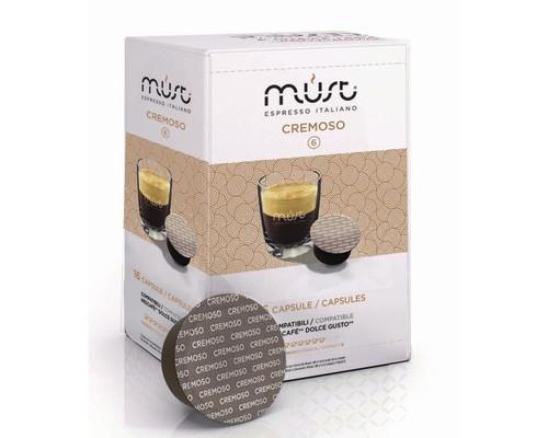 Капсулы для кофемашин Must Espresso Italiano Cremoso 16 штук в упаковке - (550323К)