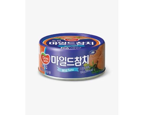 Тунец Dongwon консервированный в грибном соусе 150 г - (640508К)