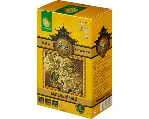 Чай Shennun Те Гуань Инь зеленый 100 г - (464232К)