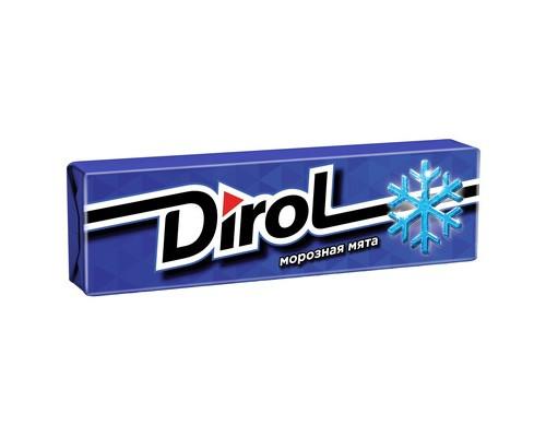 Жевательная резинка Dirol Морозная мята 13.6 г - (424433К)