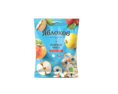 Чипсы Яблоков из сладких яблок 10 штук по 25 г - (637867К)