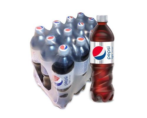 Напиток Pepsi Light газированный 0.6 л 12 штук в упаковке - (104491К)