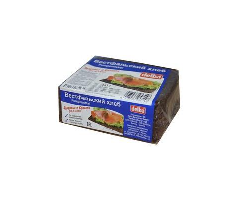 Хлеб Delba Вестфальский ржаной 500 г - (451004К)