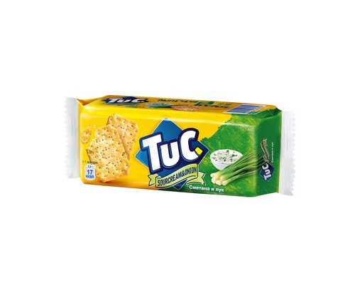 Крекер Tuc со вкусом сметаны и лука 100 г - (331268К)