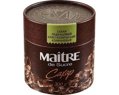 Сахар леденцовый Maitre de Sucre тростниковый 300 г - (366386К)