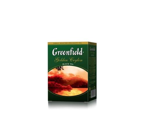 Чай Greenfield Golden Ceylon черный 100 г - (133554К)