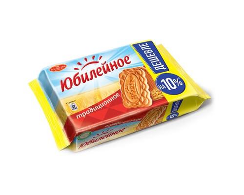 Печенье Юбилейное традиционное 313 г - (330470К)