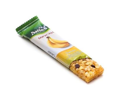 Батончик мюсли ДиYes банан с шоколадом 25 г - (427625К)