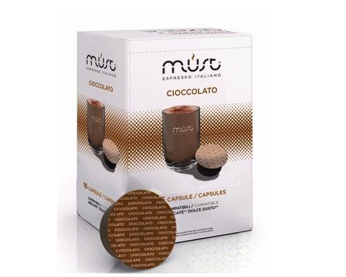 Капсулы для кофемашин Must Espresso Italiano Cioccolato 16 штук в упаковке - (550318К)