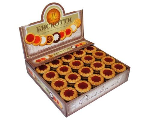 Печенье Бискотти Коста браво с вишневым мармеладом 2 кг - (416113К)
