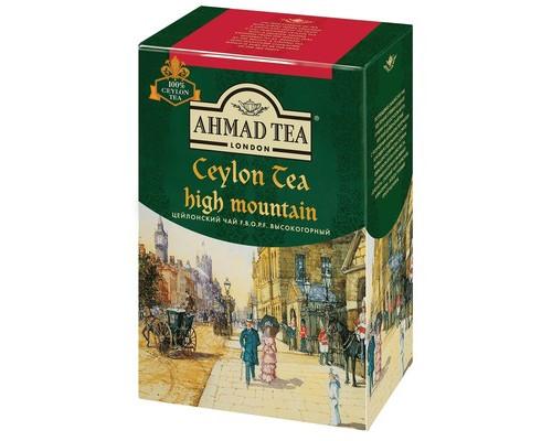 Чай Ahmad Tea Ceylon High Mountain черный 100 г - (521957К)