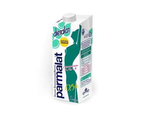 Молоко Parmalat диеталат ультрапастеризованное витаминизированное 0.5% 1 л - (437441К)